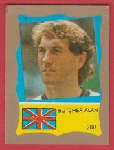 England Terry Butcher 280 **ERROR STICKER**